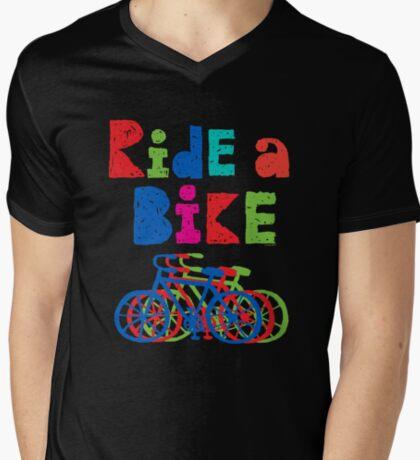 Ride a Bike sketchy - black T  T-Shirt
