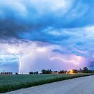 Chasing Fracking Lightning Storms by Bo Insogna