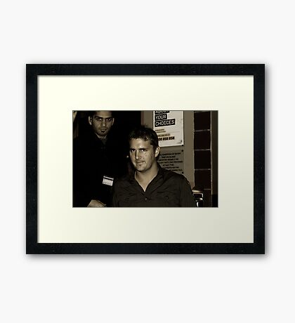 The Bouncers Framed Print