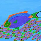 Parrot Fish by sulaartist