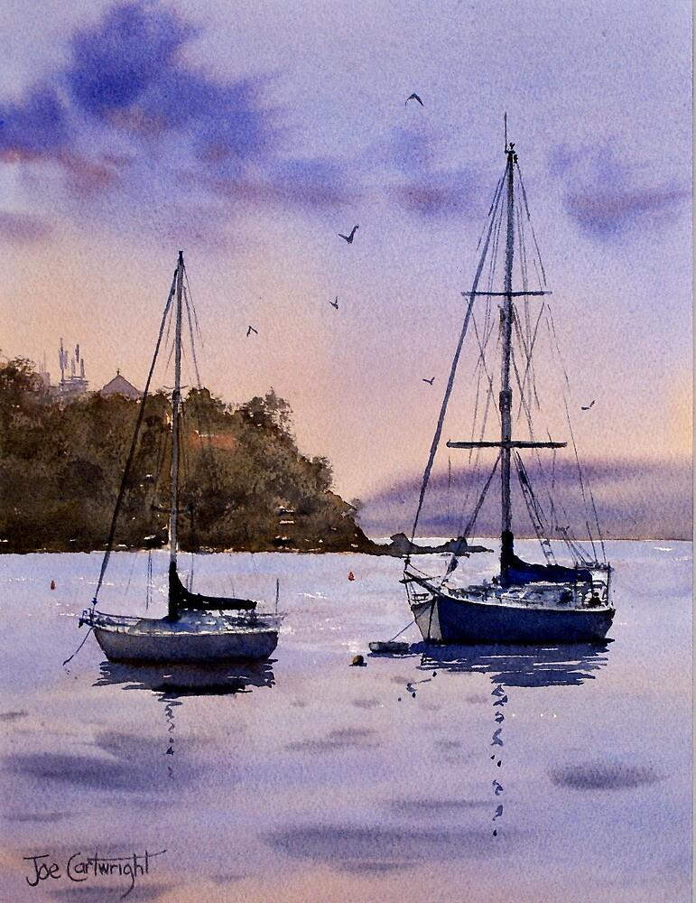 Shoal Bay, Sunset, NSW by Joe Cartwright