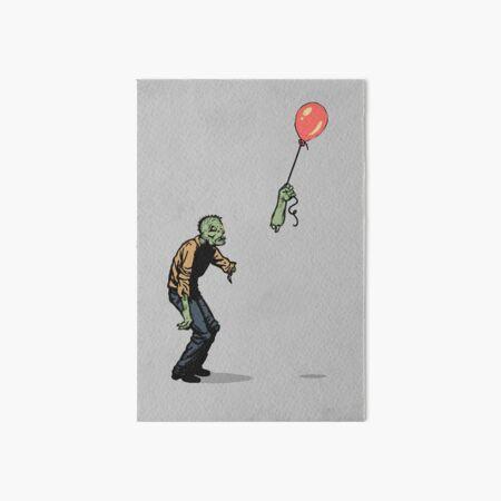 zombie Art Board Print