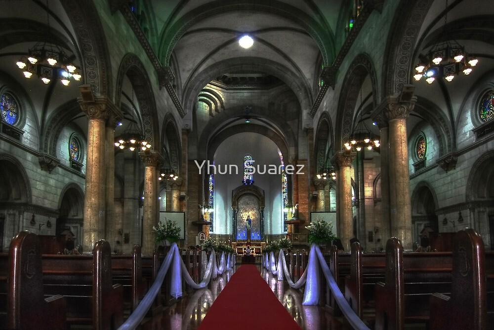 Manila Cathedral Nave by Yhun Suarez