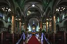 Manila Cathedral Nave by Yhun Suarez
