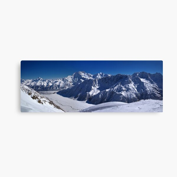 Aoraki Mount Cook & Southern Alps - NZ Canvas Print