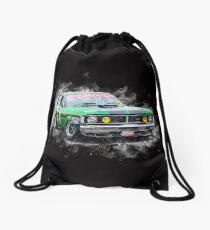 Green XY Ford Falcon GT Drawstring Bag
