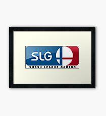 Super Smash Bros. | Smash League Gaming Framed Print