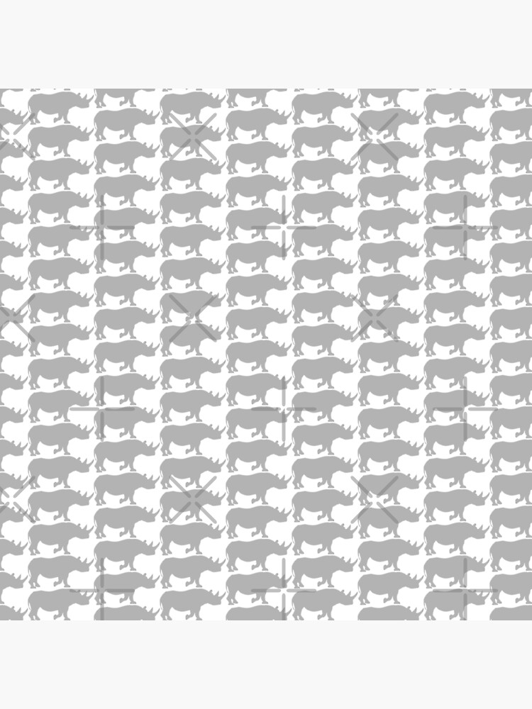 rhino pattern by PlantVictorious