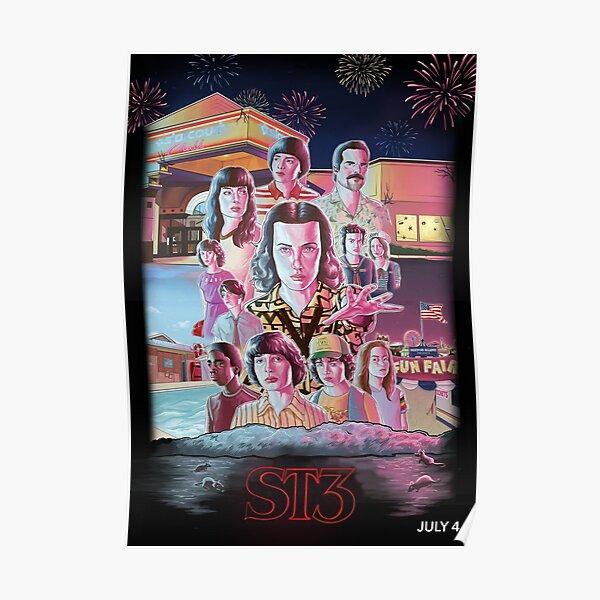 Stranger Things 3 Fan Poster Poster
