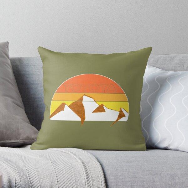 Toyota Trail Throw Pillow