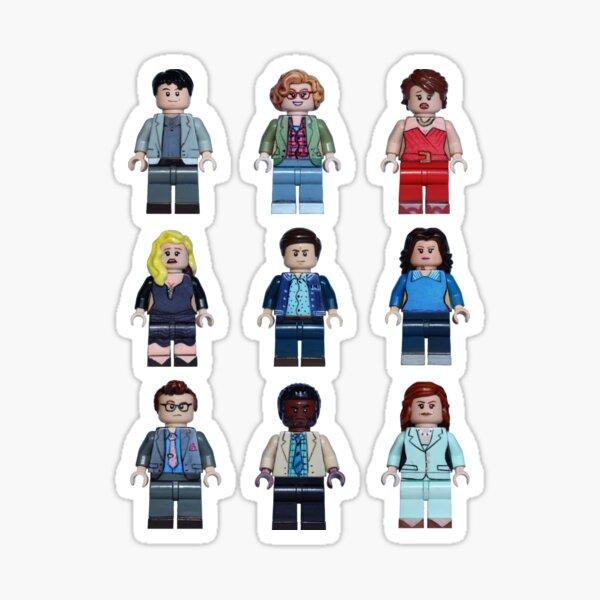The Prom Full Cast - Broadway Bricks Sticker