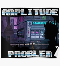 Computer Corner Pixel Art by Valenberg Poster
