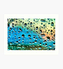 Windscreen Water Art Print