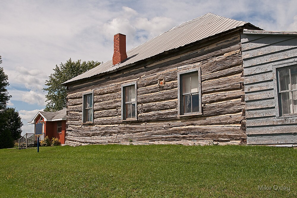 Glengarry Congregational Church, St. Elmo.1837. by Mike Oxley