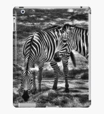 Two Zebras Together iPad Case/Skin