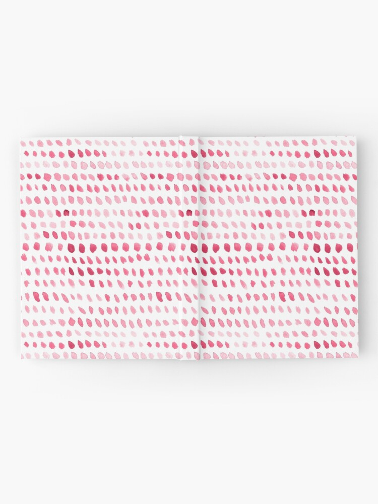 Alternate view of Watercolor Dots -  Pink Hardcover Journal