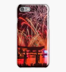 Epcot Fireworks - Illuminations Reflections of Earth iPhone Case/Skin