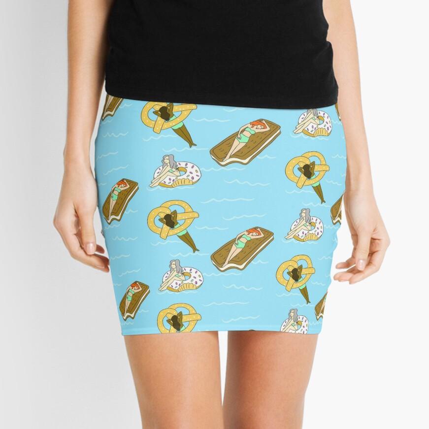 Foodie Pool Party Mini Skirt