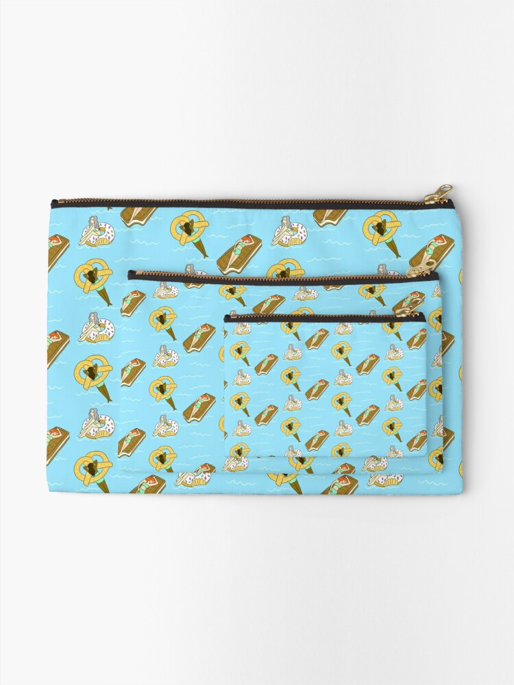 Alternate view of Foodie Pool Party Zipper Pouch