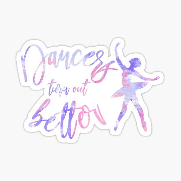 ballet watercolor Sticker
