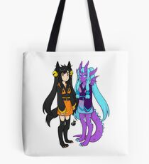 Blaze and Lunar Tote Bag