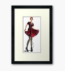 """Edgy Elegance"" Framed Print"
