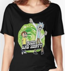 Rick and Morty vs The World Women's Relaxed Fit T-Shirt