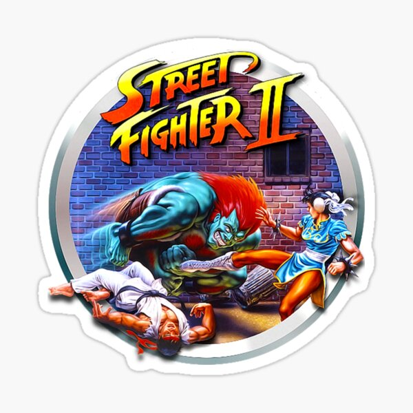 Street Fighter II Sticker