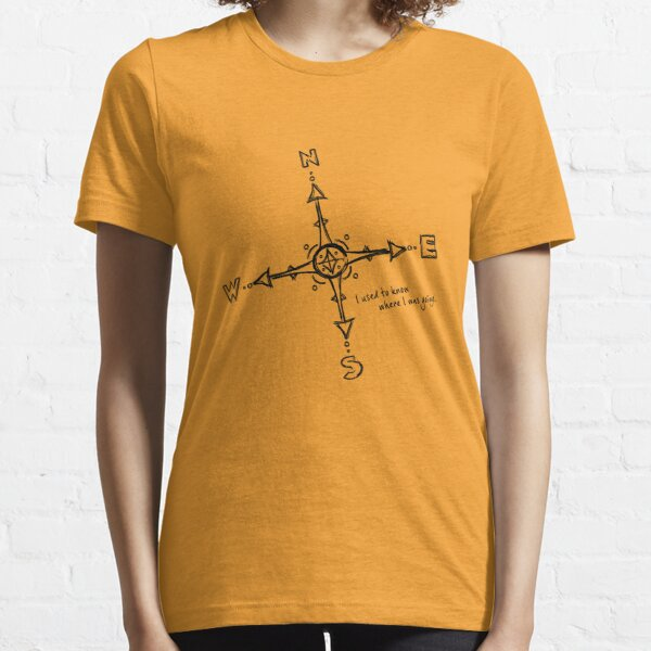 lost in black Essential T-Shirt