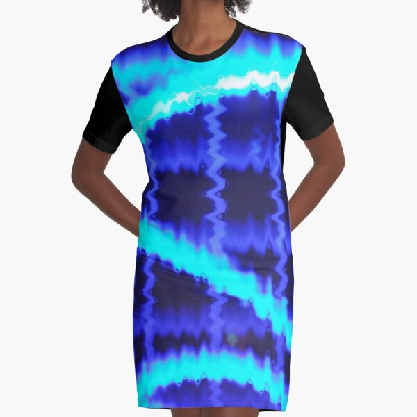 Wave Beyond Graphic T-Shirt Dress