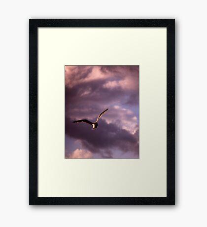 Sinister Sky Framed Print