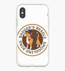 Badger's Beagle Smuggling Ring V2.0 iPhone Case