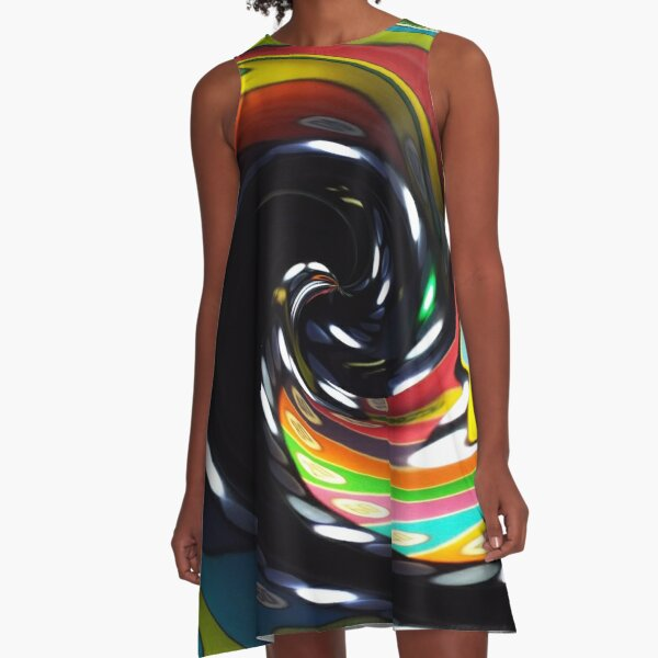 Head In The Game A-Line Dress