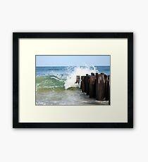 Atlantic Fury - In Color Framed Print