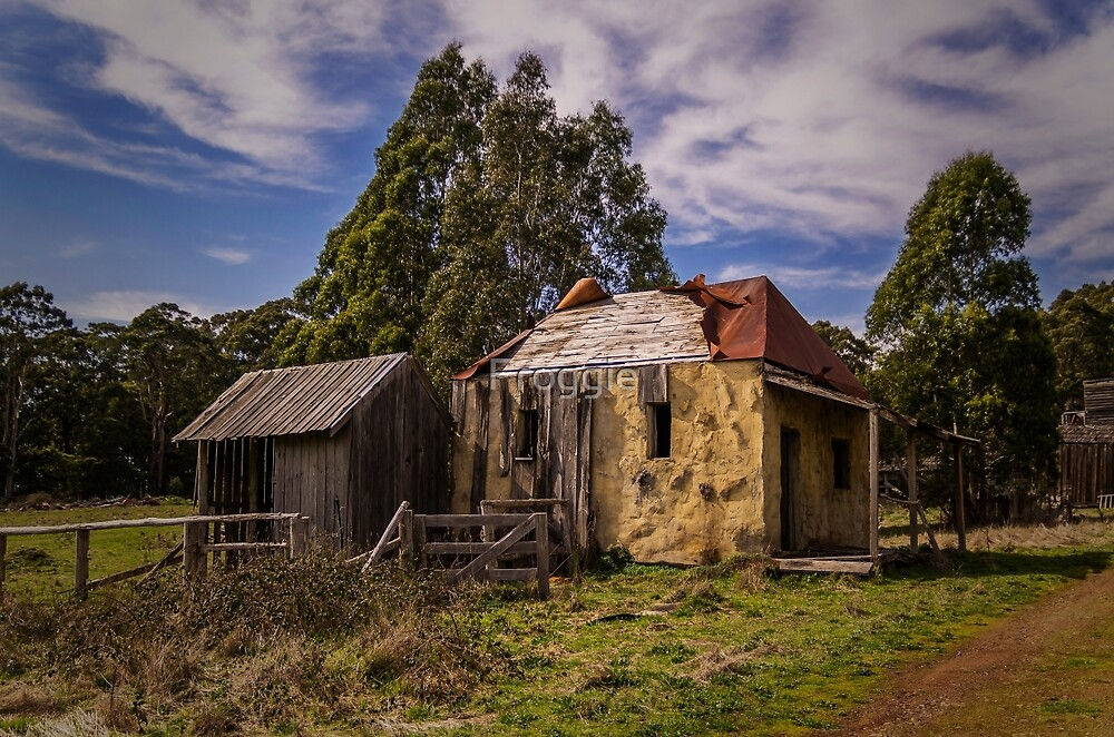 The old farm by Froggie