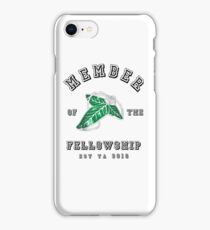 Fellowship (White Tee) iPhone Case/Skin