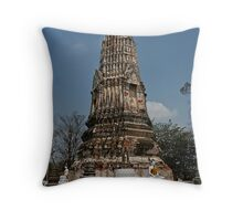 Ancient Chedi Throw Pillow