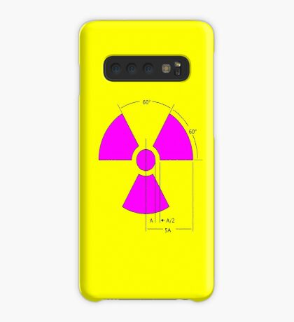 Warning Radiation Sign Template Case/Skin for Samsung Galaxy