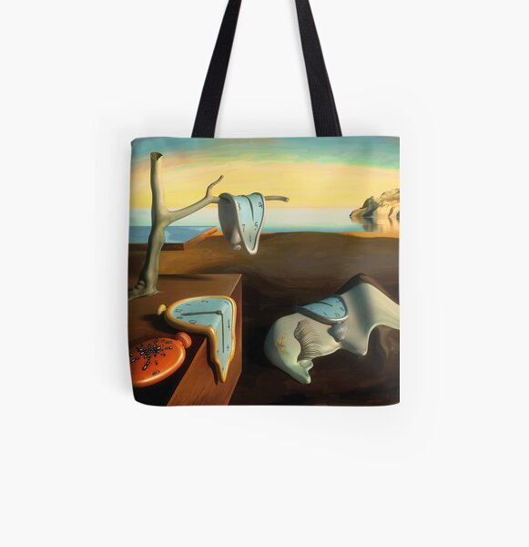 Persistence of Memory All Over Print Tote Bag