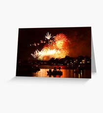 New Years Eve Greeting Card