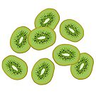 Kiwi Slices by Hannah Kaplan
