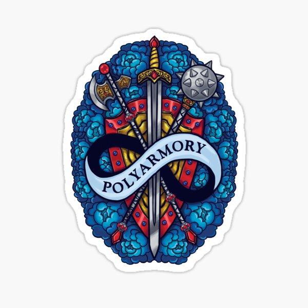 Polyarmory Sticker