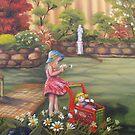 In Grandpa's Garden by Vickyh
