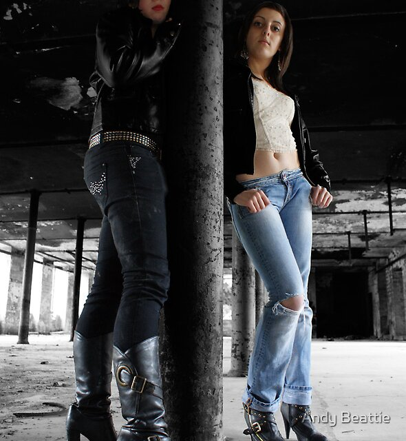 PhotoShoot in the old mill #008 (edited) by Andy Beattie