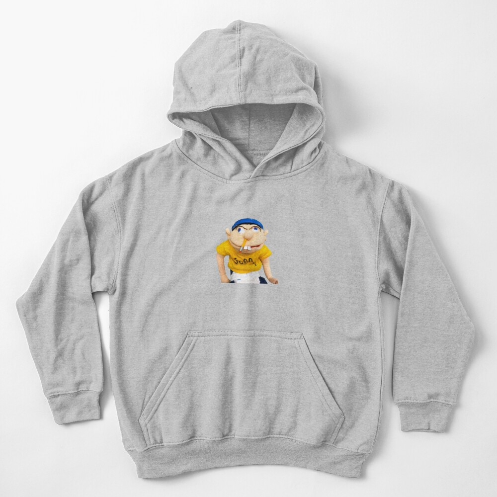 Jeffy from SML Kids Pullover Hoodie