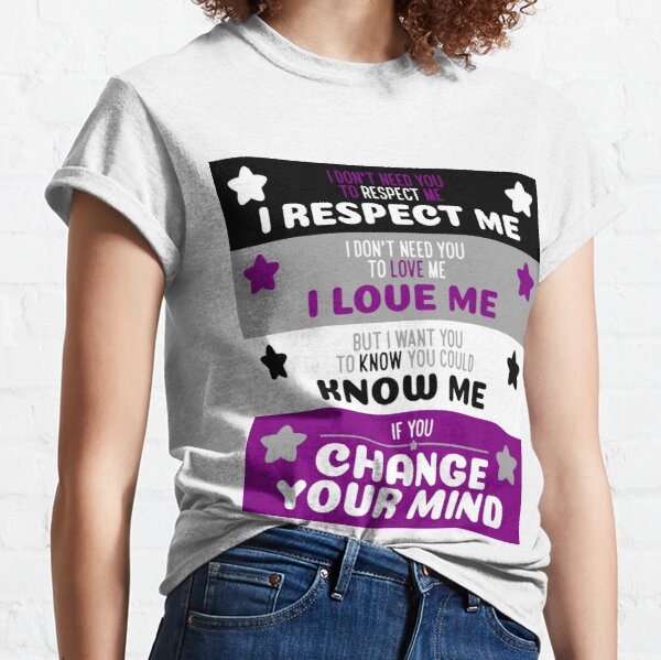 Change Your Mind - Asexual Pride Variant Classic T-Shirt