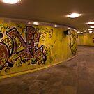 Danmarksplass Pedestrian Tunnel by Kathey  Sweeney