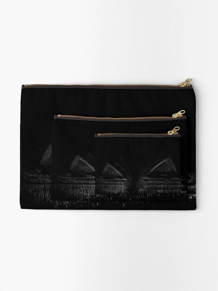 Alternate view of Opera House Zipper Pouch