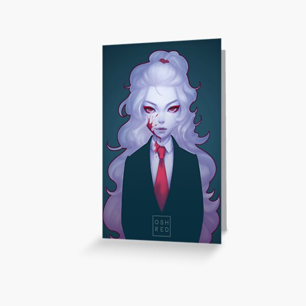 Chantilly: Suit  Greeting Card