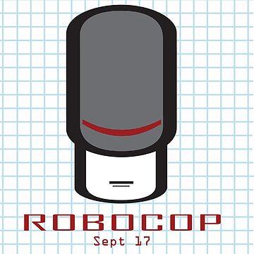 Robocop Poster by stevesparke